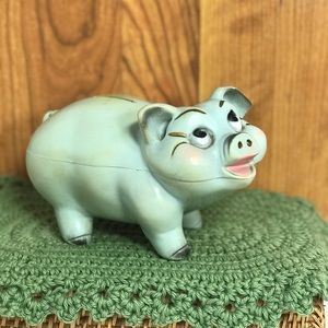 Vintage Piggy Bank A.N. Brooks Corp